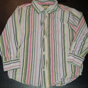 Gymboree size 2t button down shirt